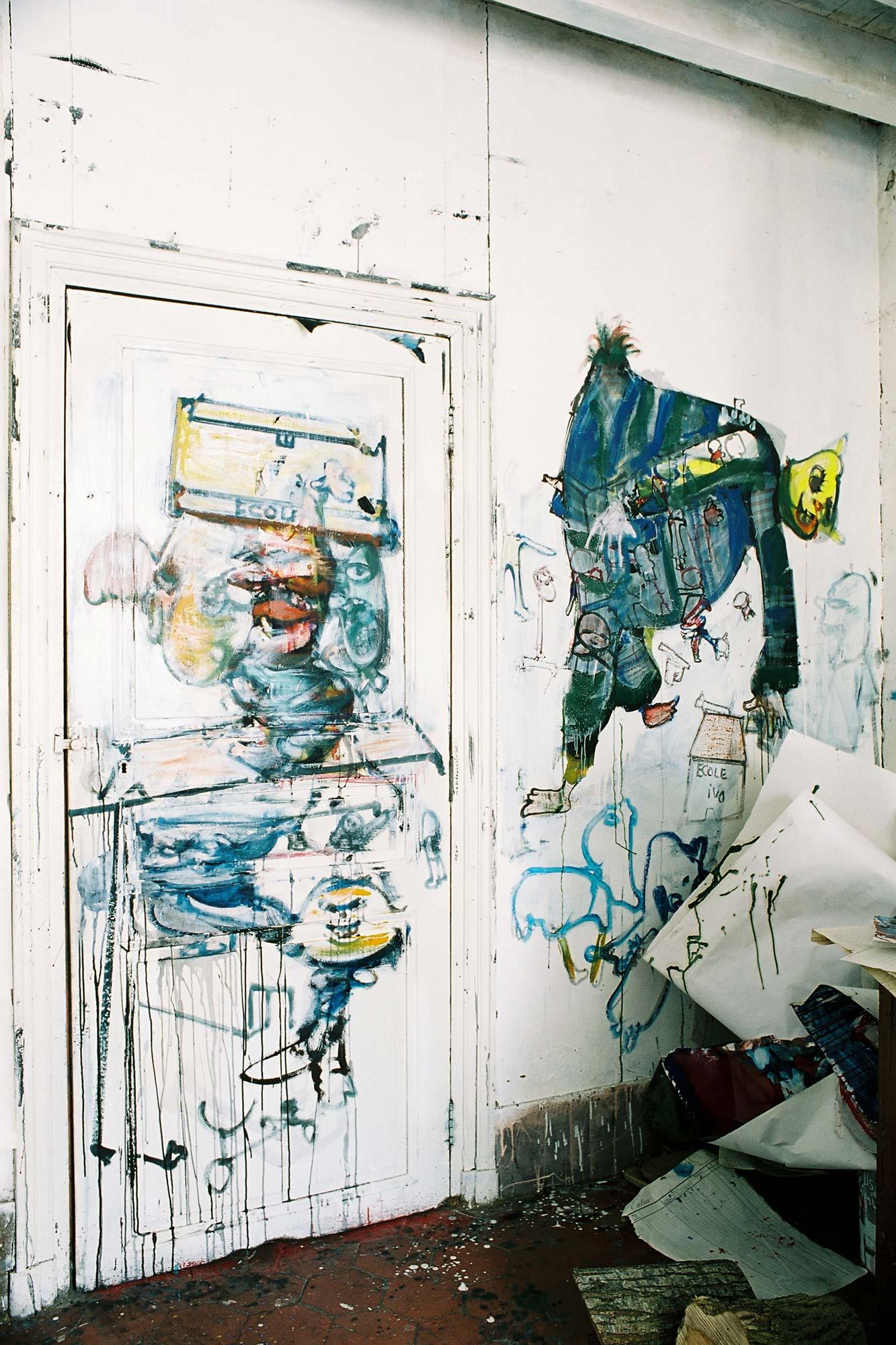 Dado: Zidno slikarstvo Eruvala – Atelje od keramike – Sjeverni zid