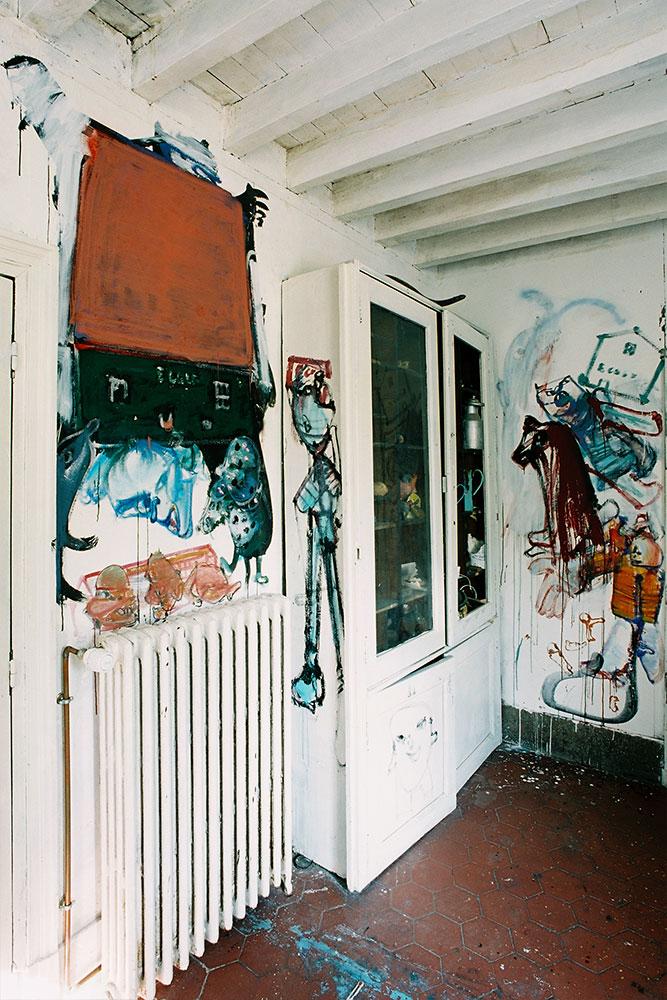 Dado: Zidno slikarstvo Eruvala – Atelje od keramike – Zapadni zid
