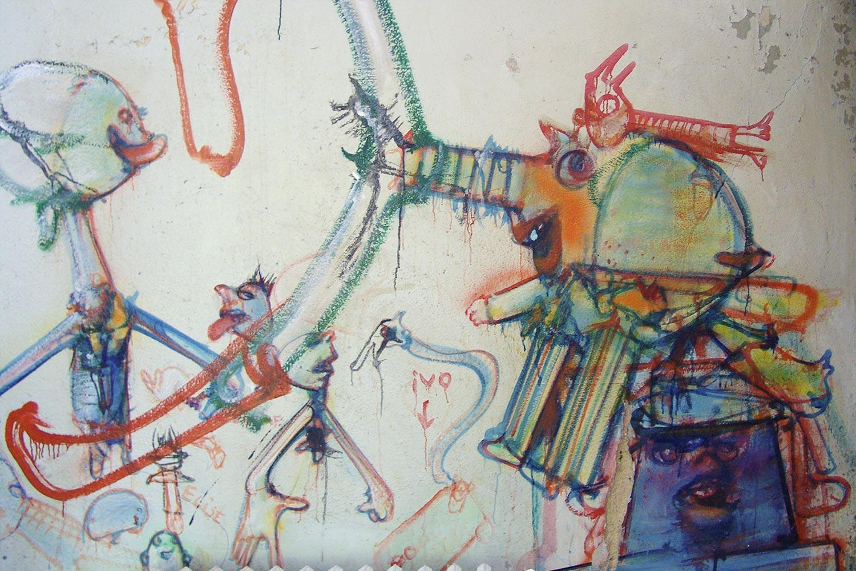 Dado: Zidno slikarstvo Eruvala – Kuhinja – Zapadni zid