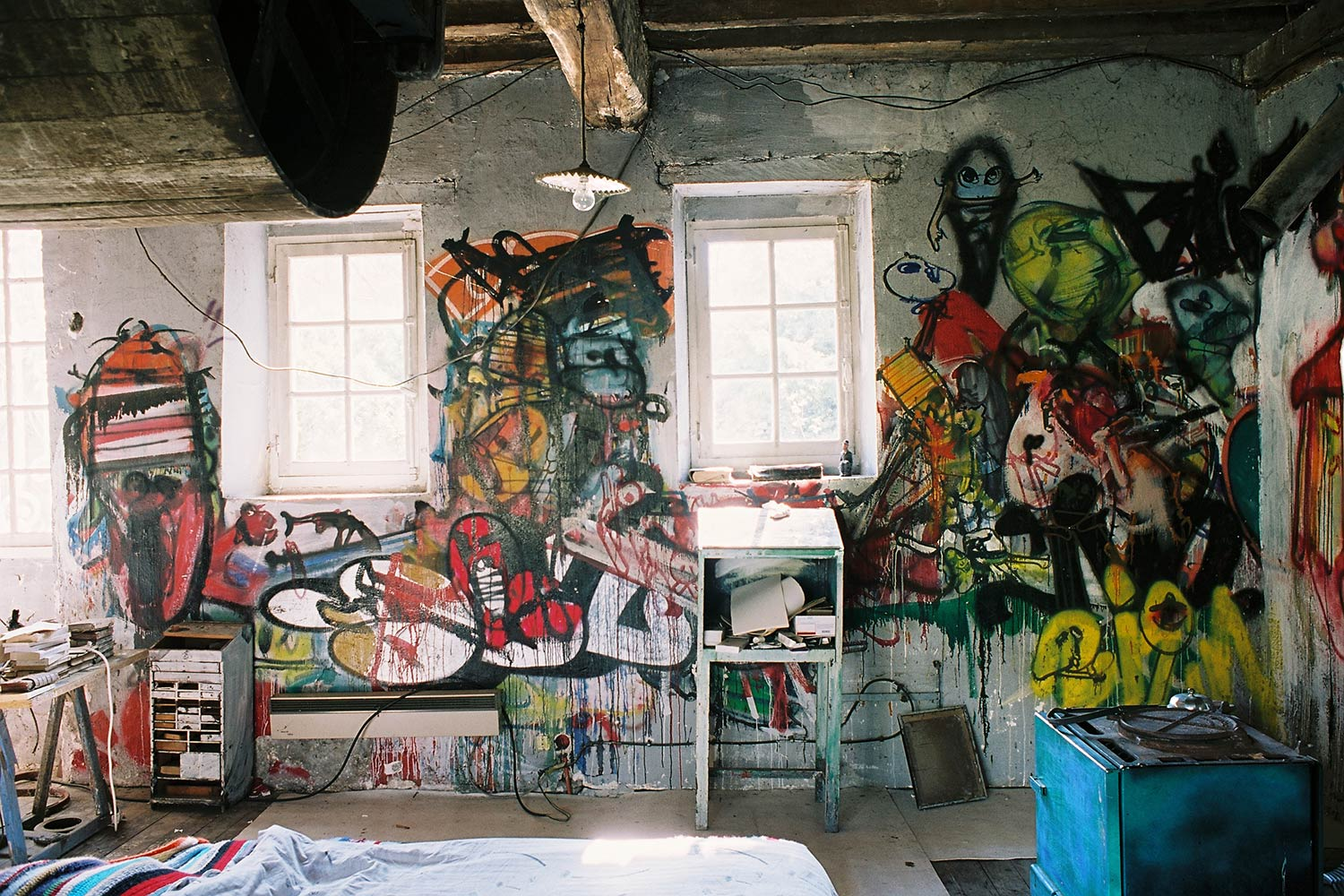 Dado's room – Murals at Hérouval
