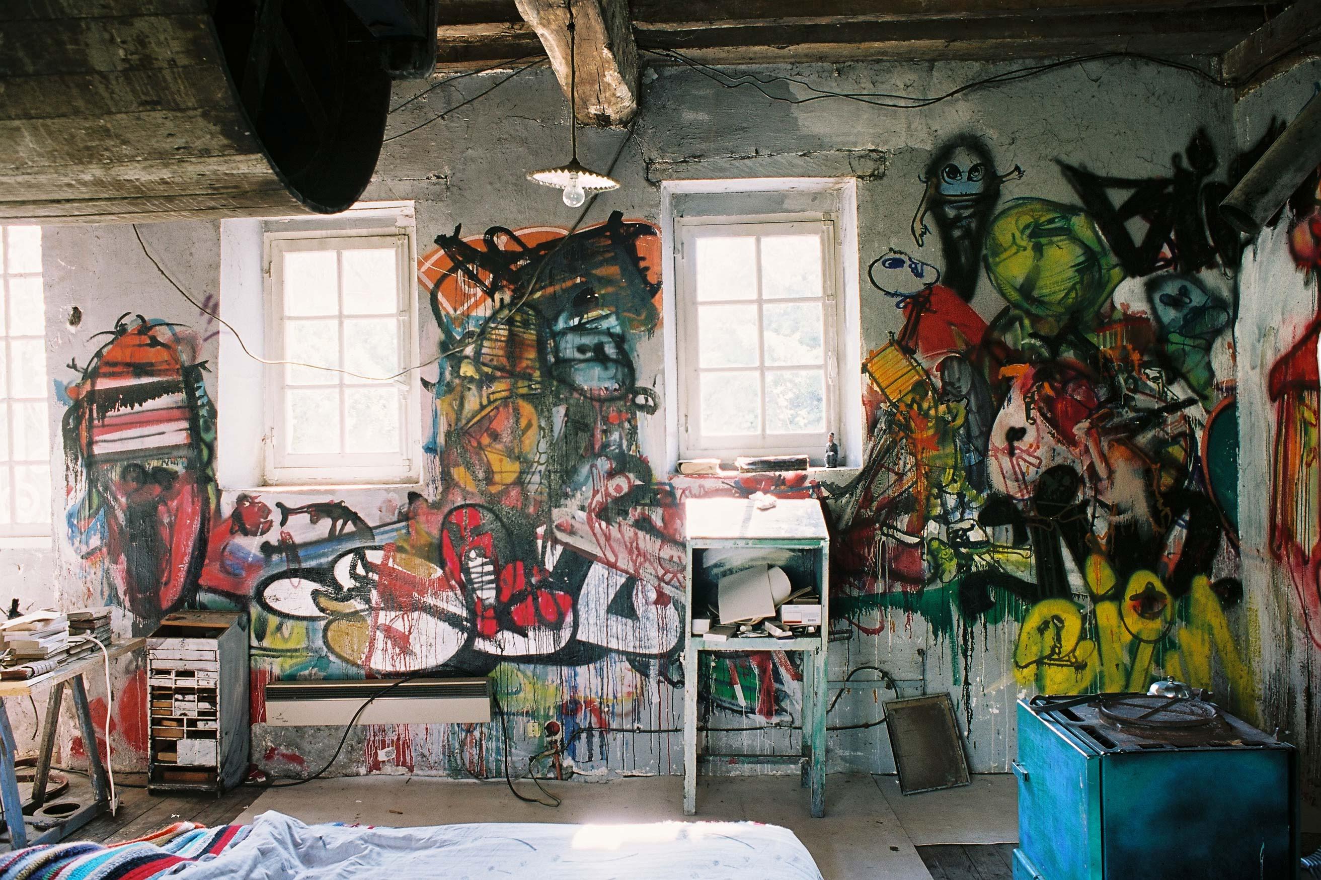 Dado's room – Murals at Hérouval