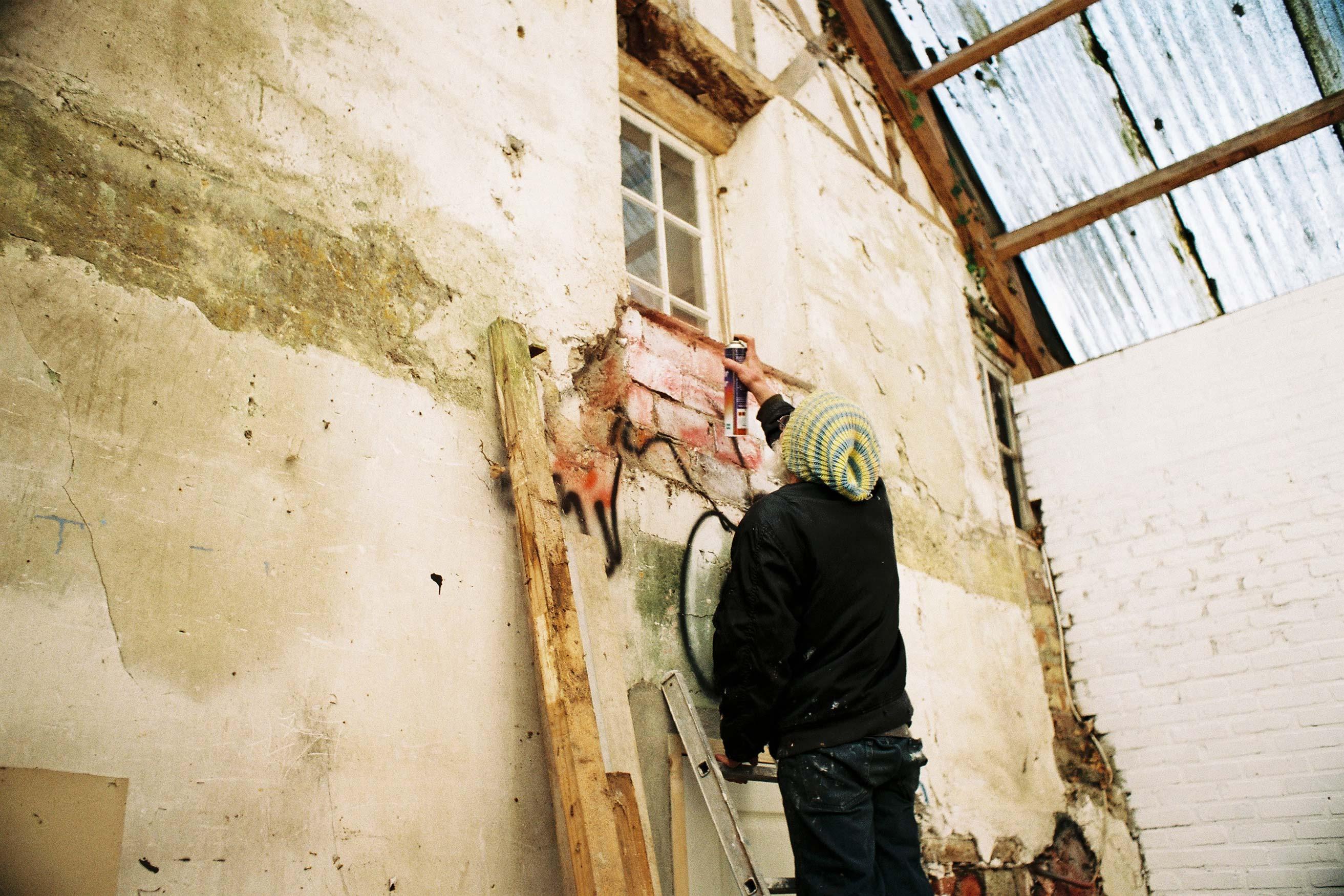 Summer studio – Murals at Hérouval