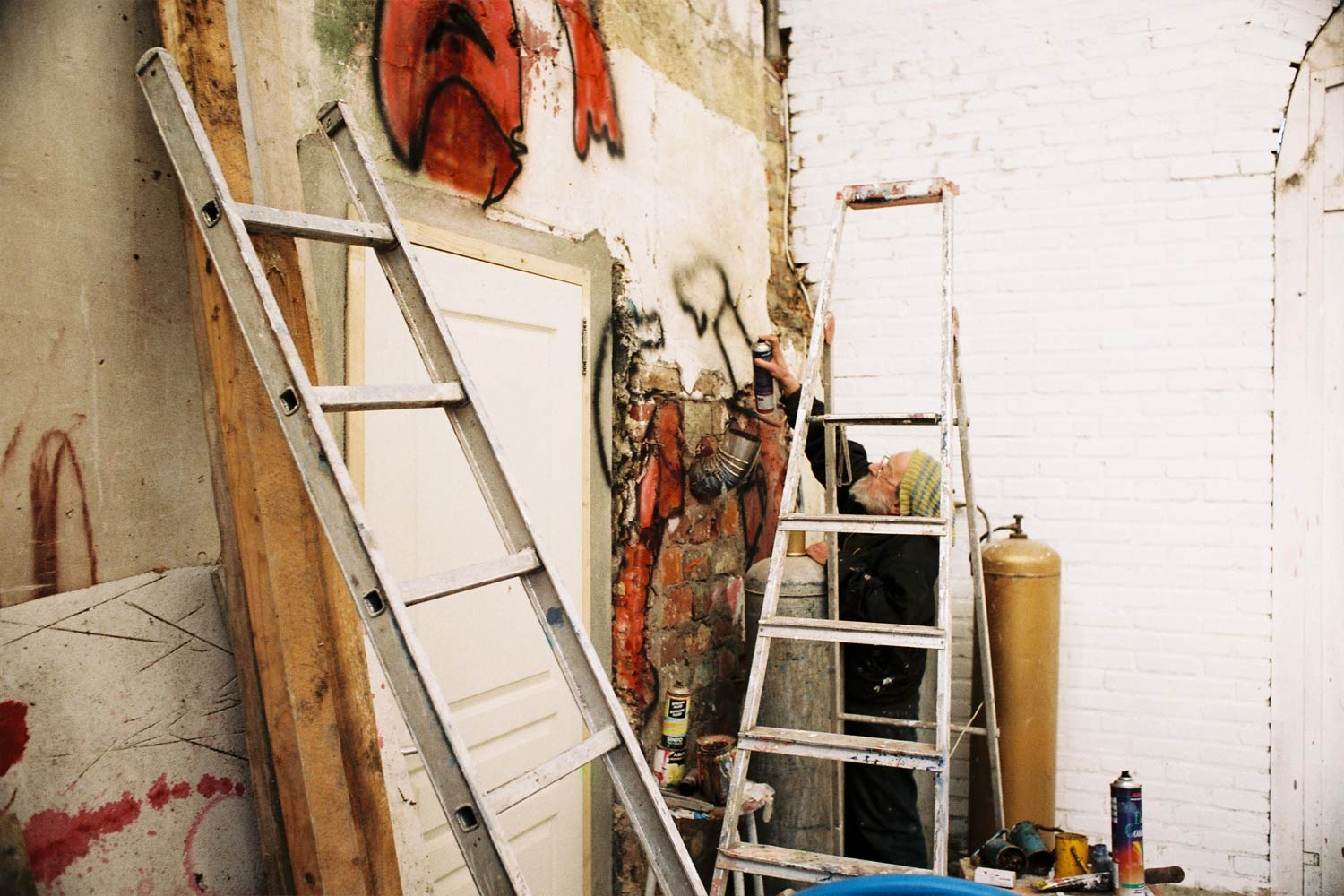Summer studio – Murals at Hérouval