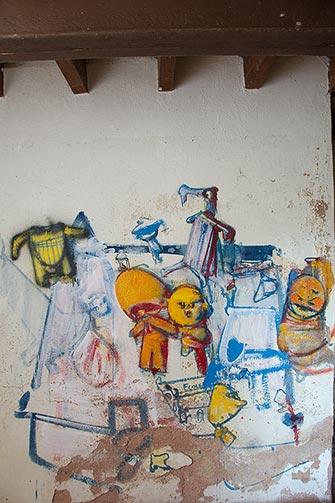 Istočni zid Loitine prostorije u Eruvalu
