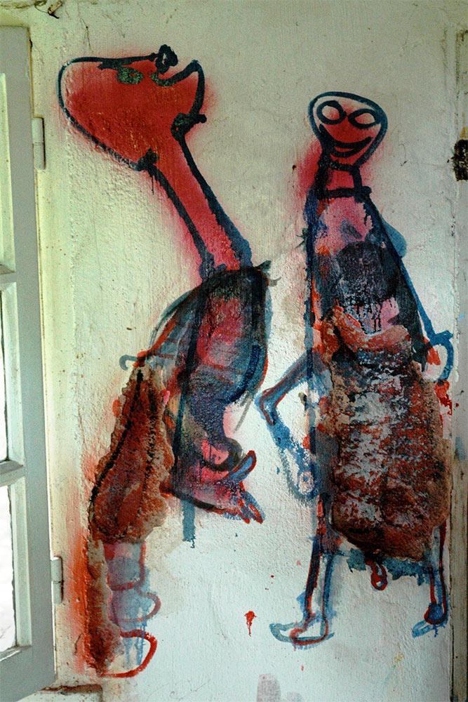 Dado: Zidno slikarstvo Eruvala – Lolitina prostorija – Istočni zid
