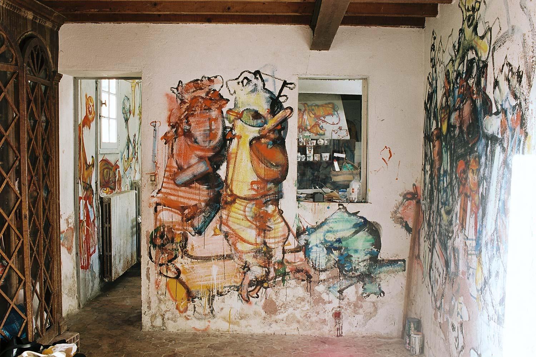Dado: Zidno slikarstvo Eruvala – Lolitina prostorija – Sjeverni zid