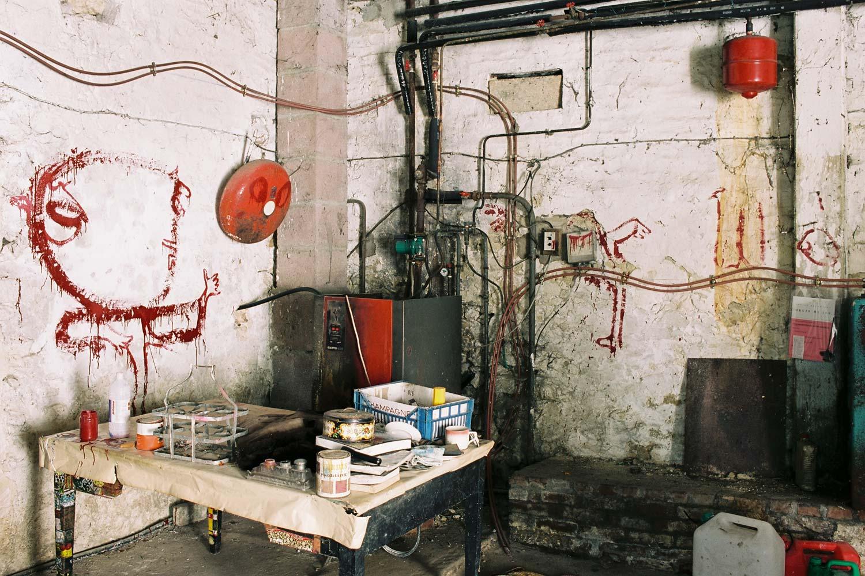 Dado: Zidno slikarstvo Eruvala – Garaža