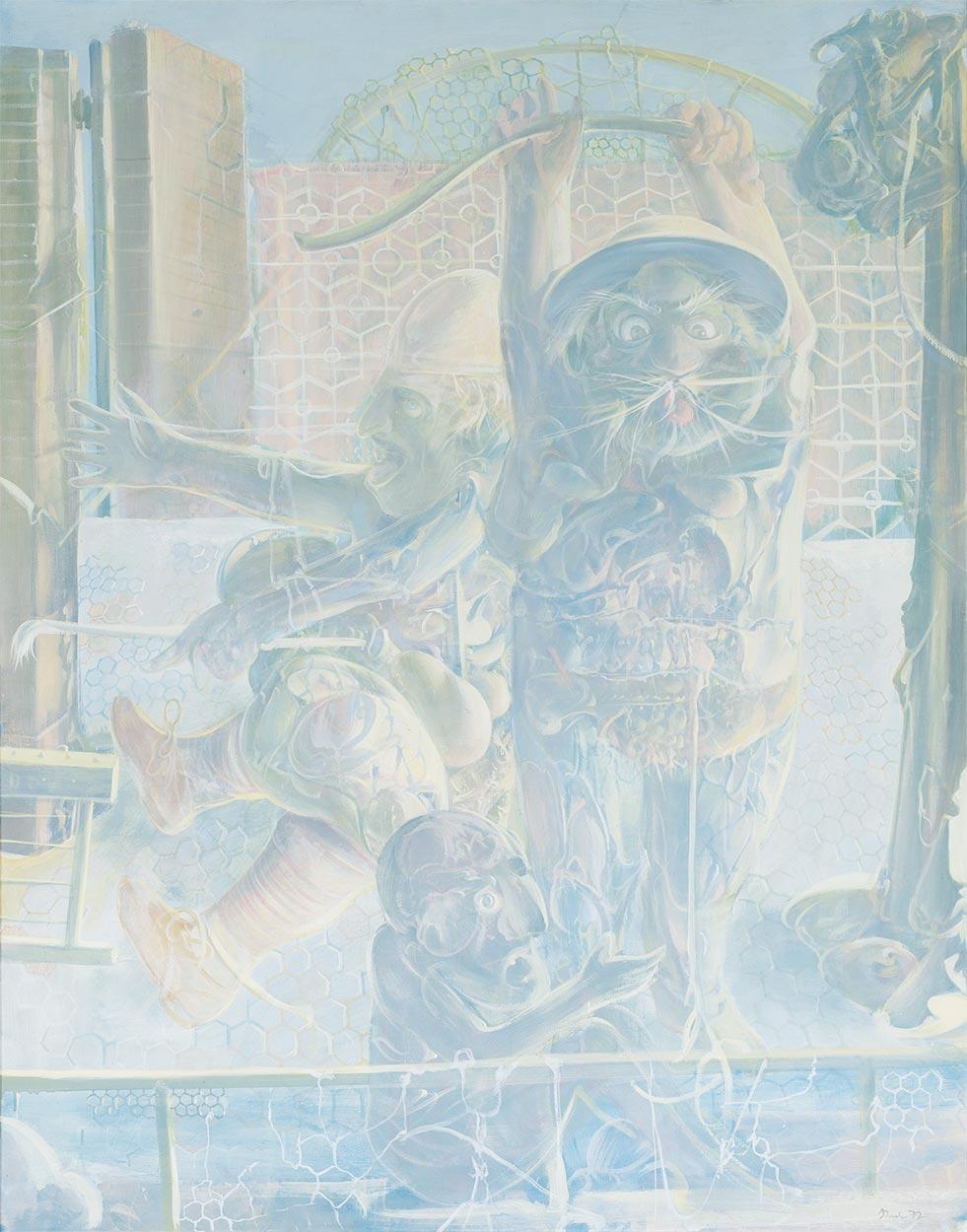 Dado: Rhinoceros, third panel, 1972