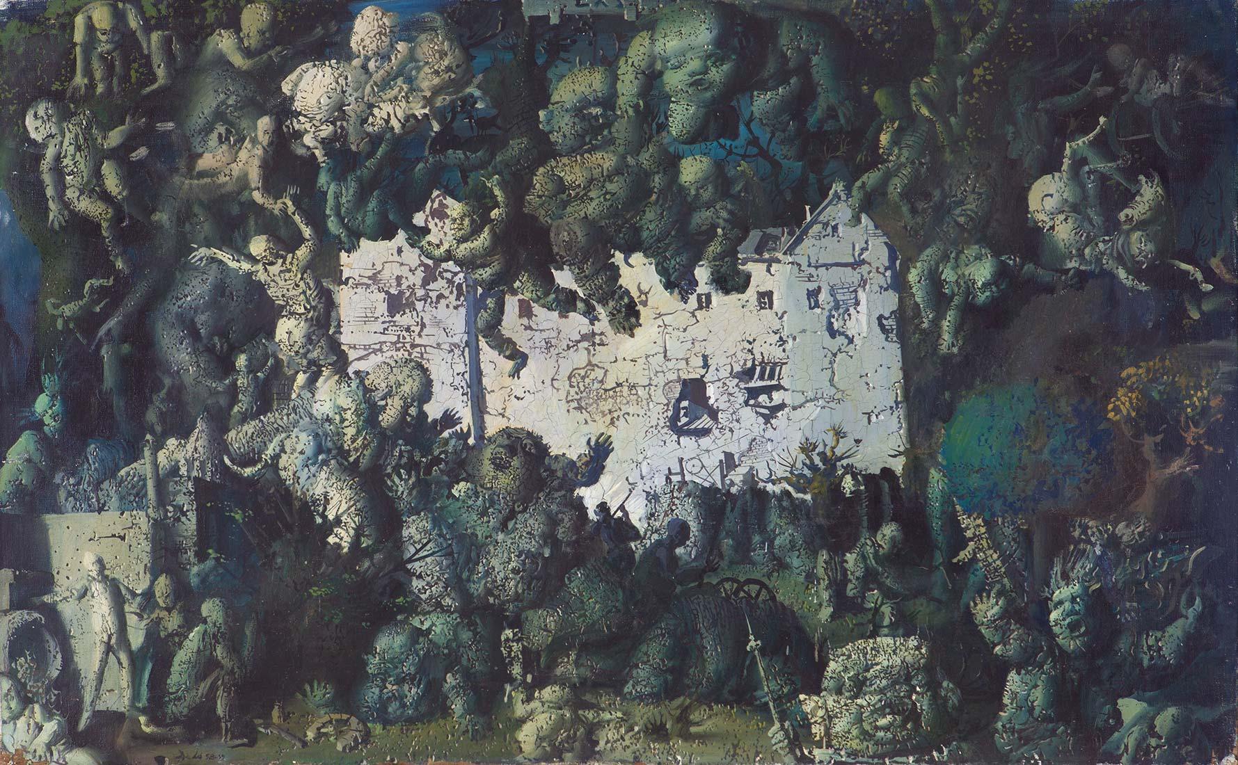 Dado: The Ruin, 1957-1958
