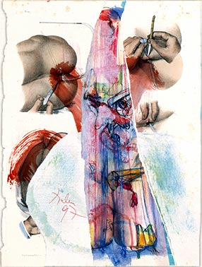 Untitled collage, 1997