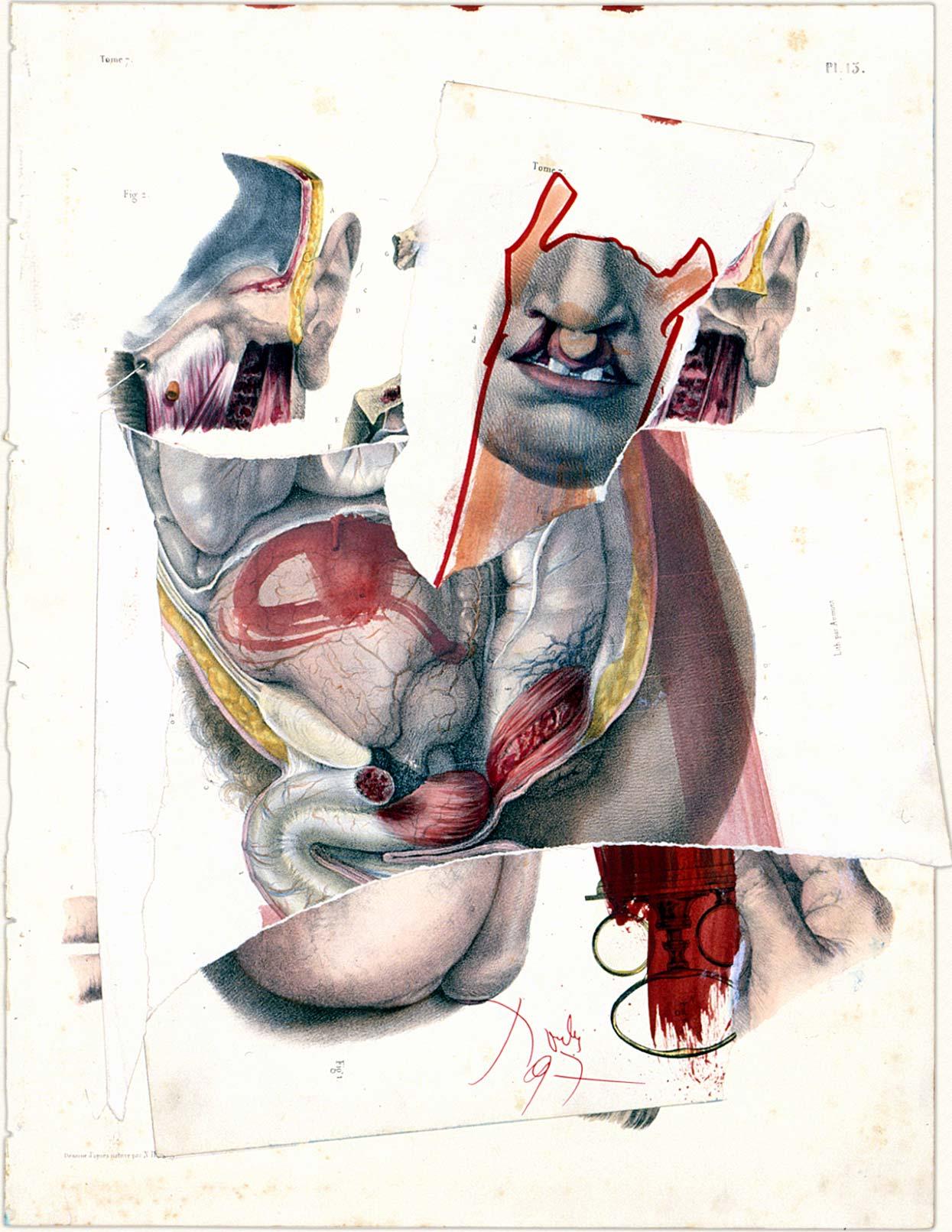 Dadov kolaž : Bez naslova, 1997