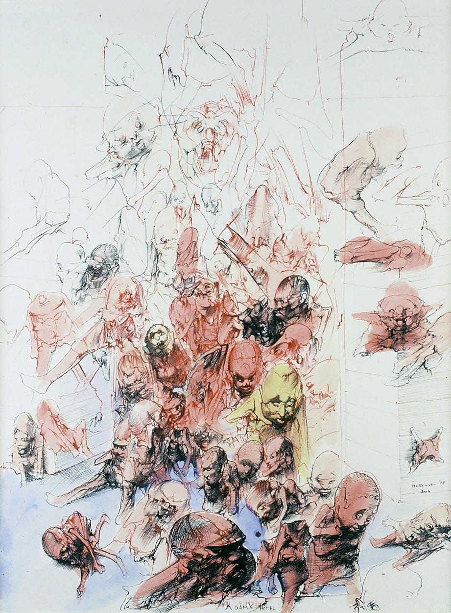 Dado's drawing