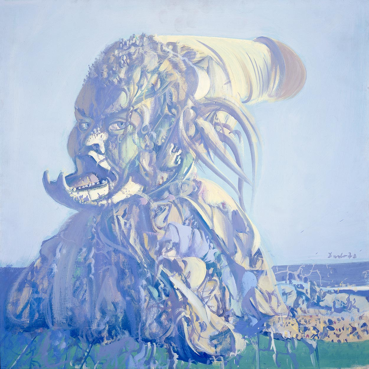 Dado's painting: The Gallery of Ancestors IV, 1970