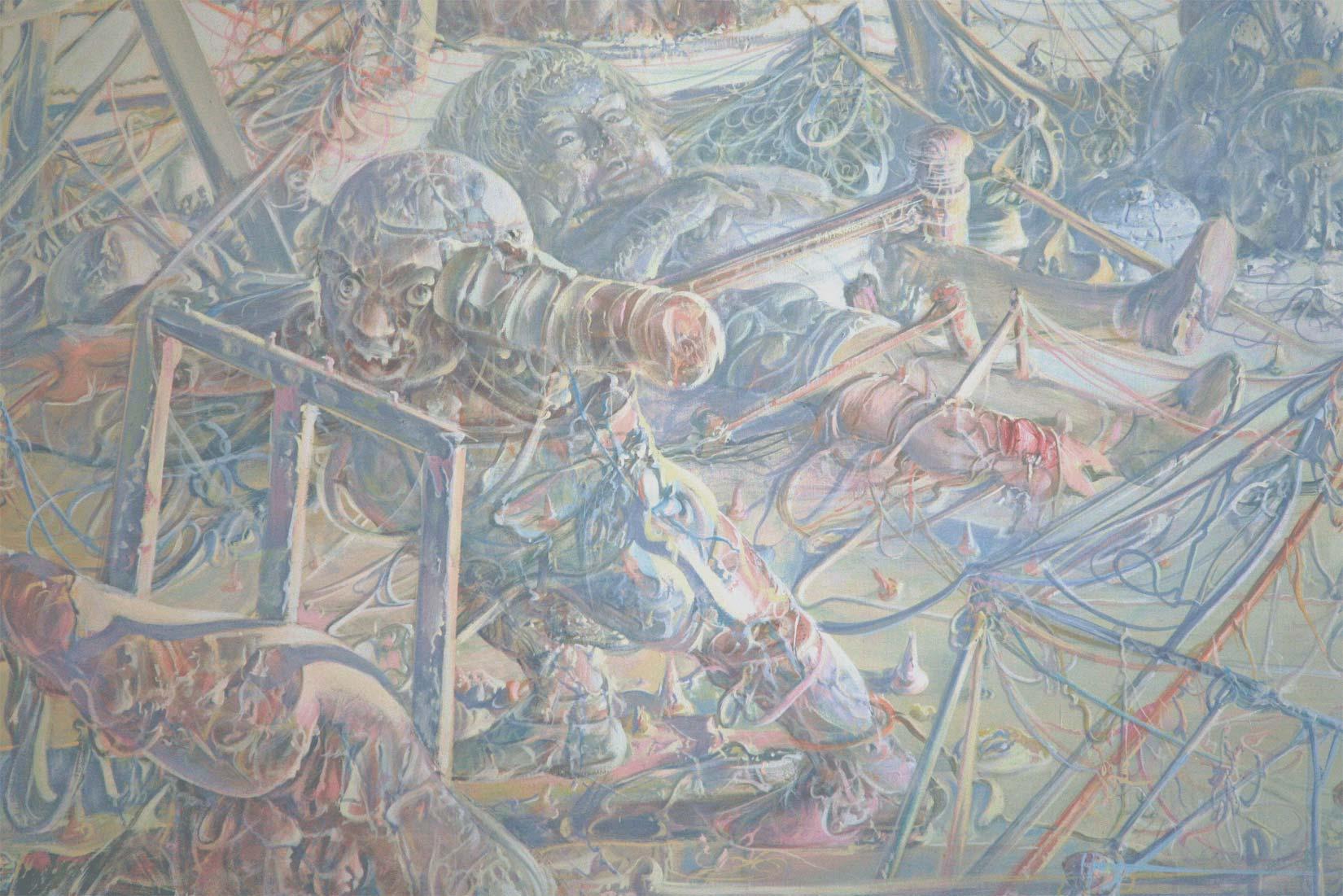 Dadova slikaAtelje, 1972 (detalj)