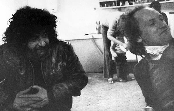 Dado (Miodrag Djuric) et Henri-Alexis Baatsch
