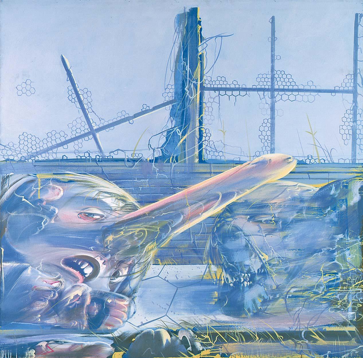 Dado: Boukoko Triptych, 1975