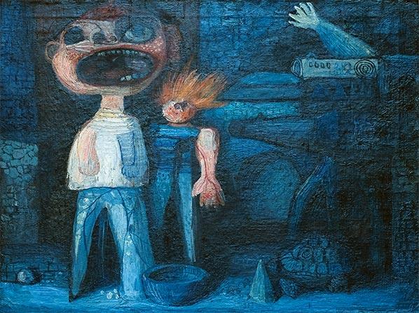 The Scream, 1954