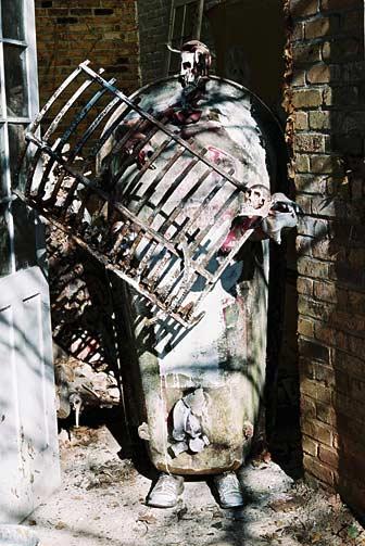 The Sarcophagus of Erik Dietman