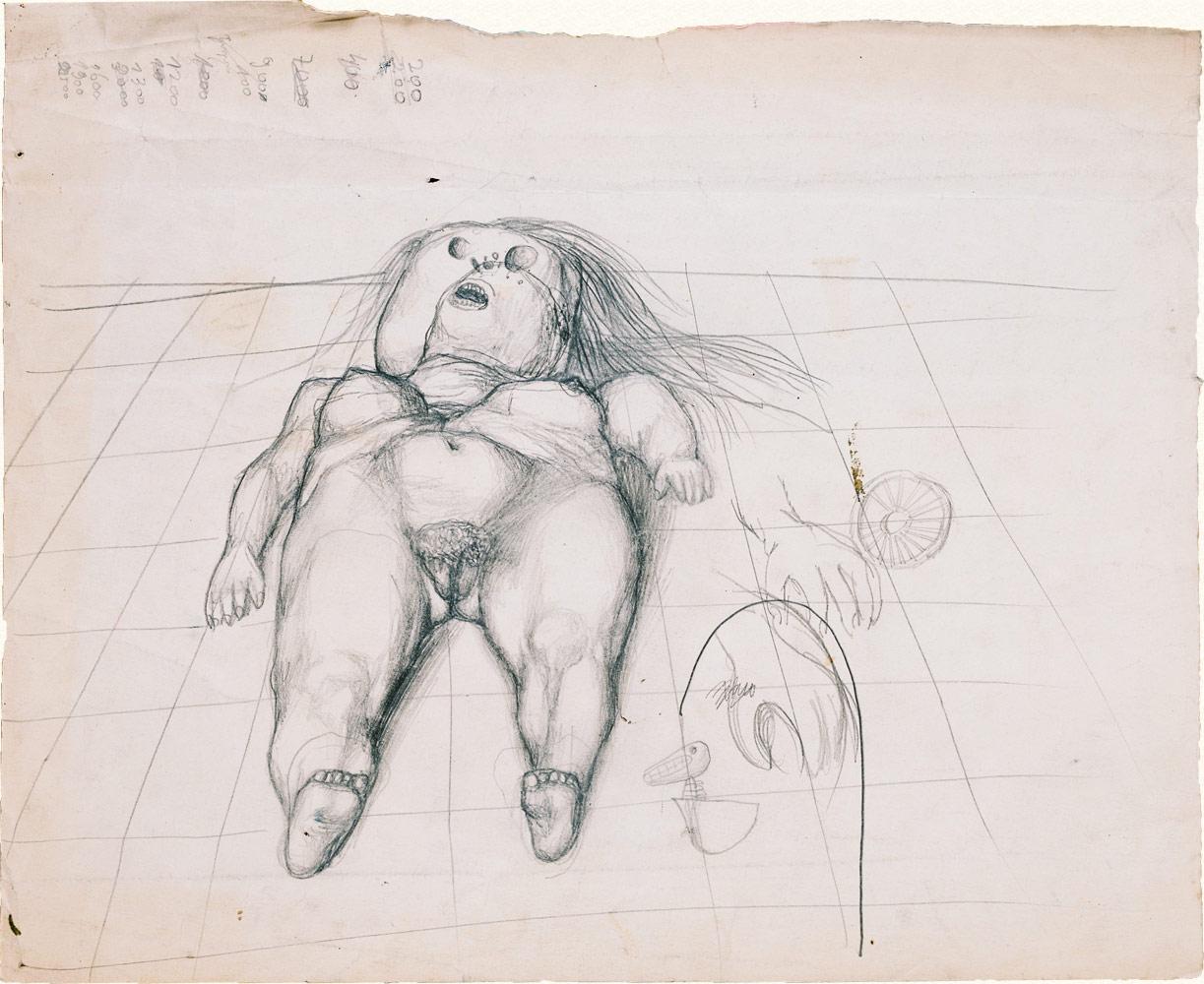 Skica za Raspeće, 1955