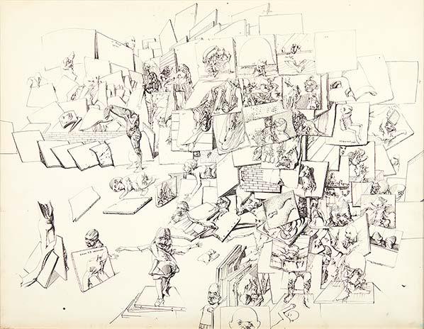 Galerie des ancêtres, 1969