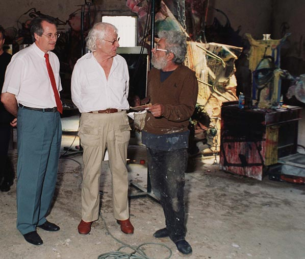 André Gélis, Roman Opałka i Dado