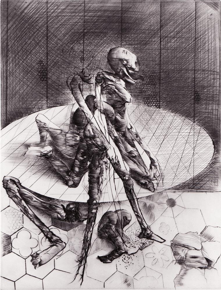 Print by Dado: The Manipulator II