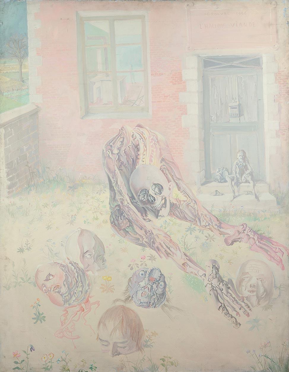 Dado: L'Haume viande, 1966