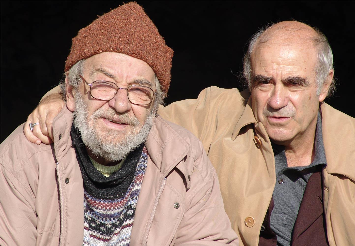 Dado i Žak Anrik 2004. godine.