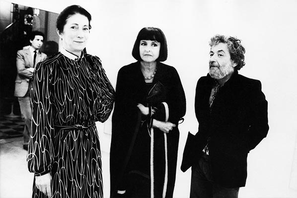 Denise Klossowski, Joyce Mansour and Dado