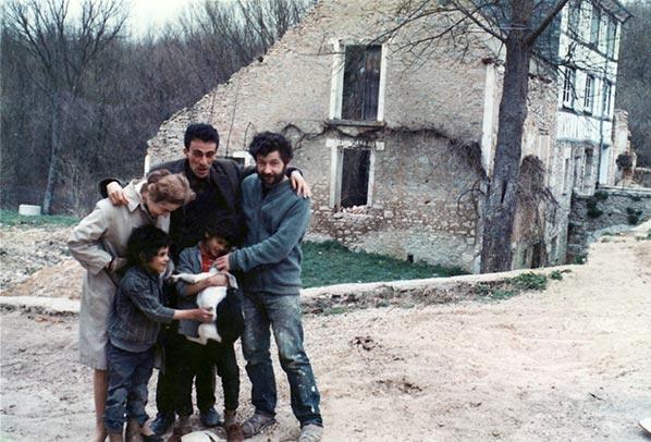 Dado (Miodrag Djuric) et Kateb Yacine