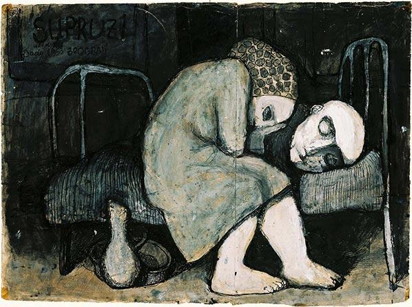 Dado: Untitled, 1953