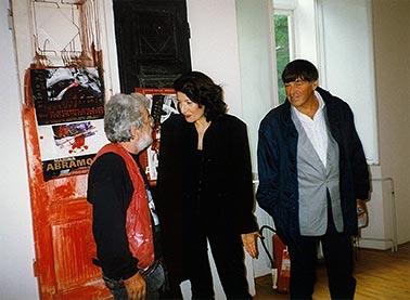 Dado i Marina Abramović