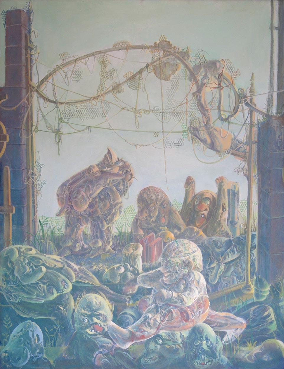Dado: Pali-Kao Triptych, 1972