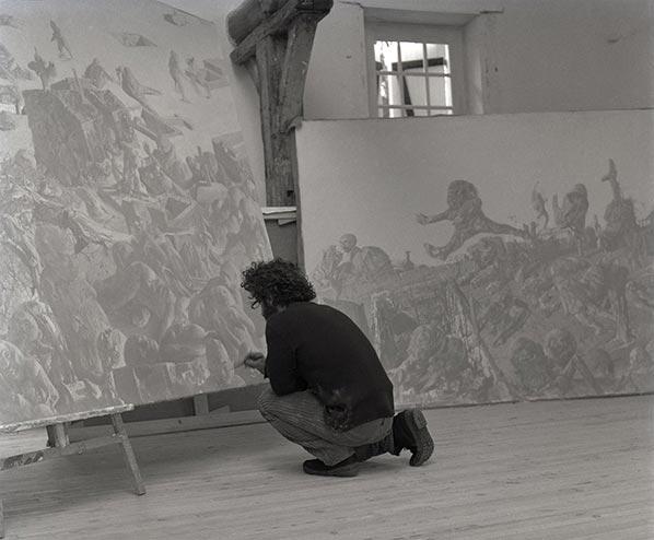 Dado painting in 1971