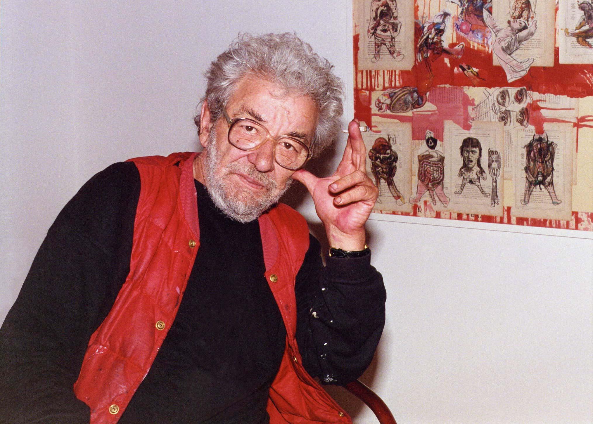 Dado in Cetinje in 1996