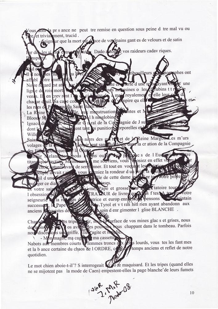 Jann-Marc Rouillan's manuscript - Page 10