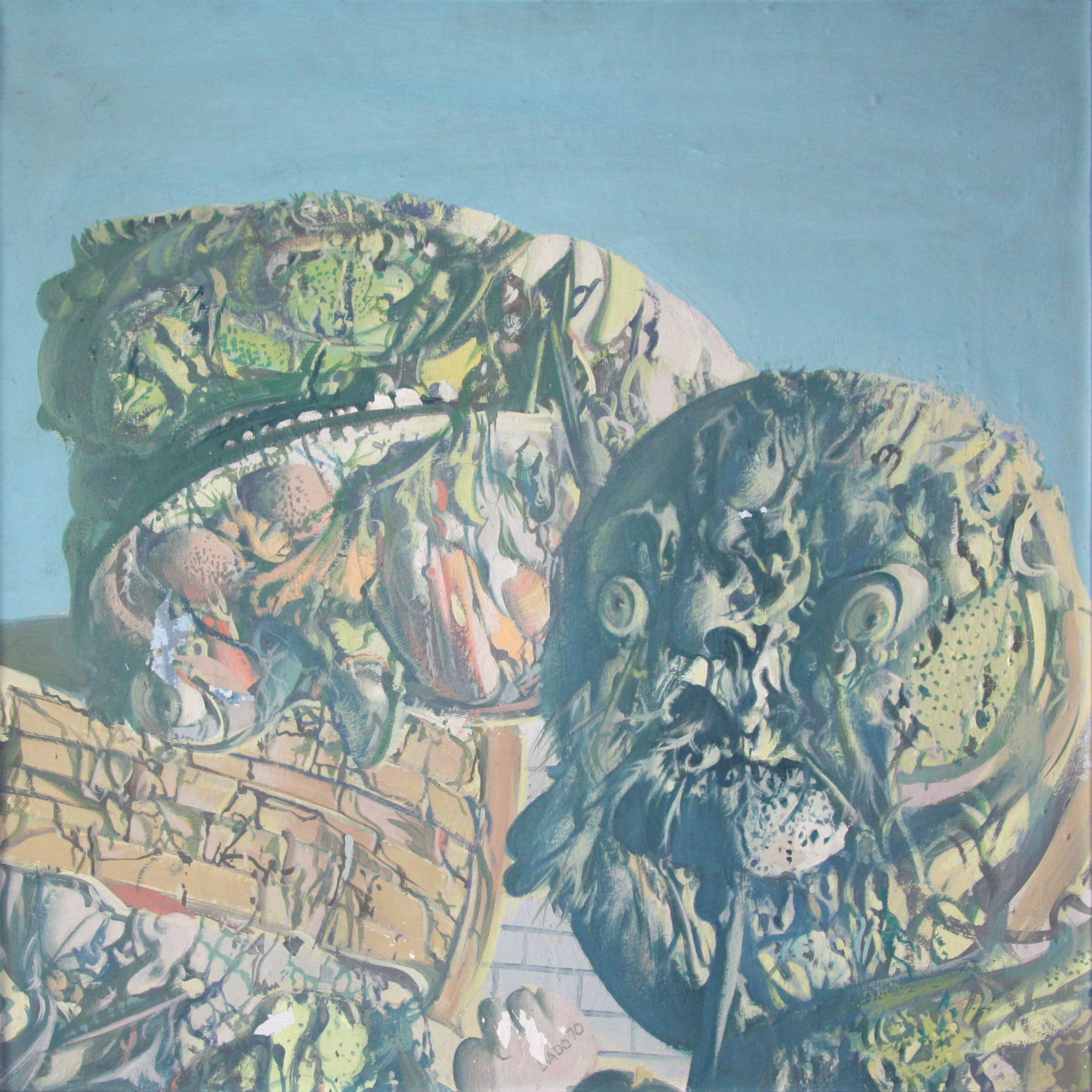 Dado's painting: Untitled, 1970