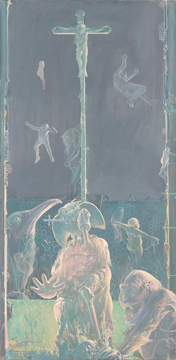 Dado: St Hubert's Triptych, 1973