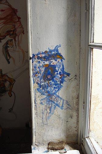 Južni zid ateljea od keramike u Eruvalu