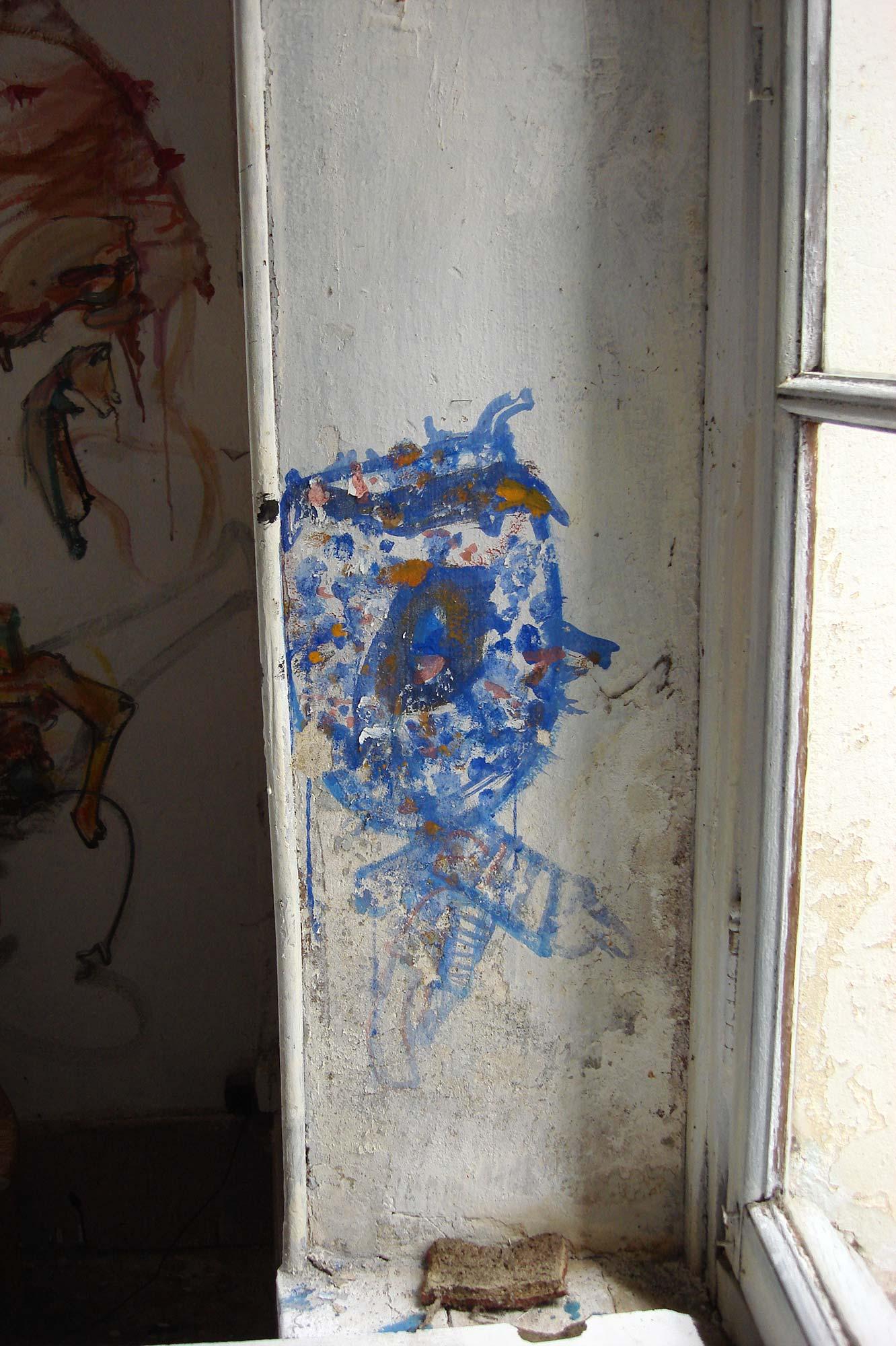 Dado: Zidno slikarstvo Eruvala – Atelje od keramike – Južni zid