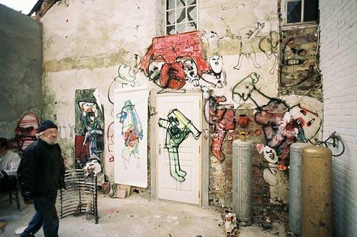 Summer studio at Hérouval