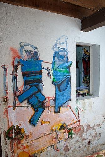 Sjeverni zid Loitine prostorije u Eruvalu